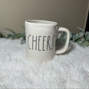 Rae Dunn Coffee Tea Mug Cheers